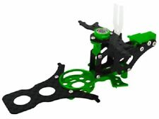 Rakon CNC Aluminum and Carbon Fiber Main Frame Set Trex 150 DFC 15DFC452-G Green