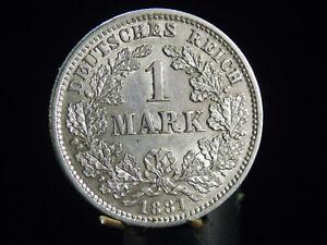 - M.f.b - Deutsches Kaiser Reich Wilhelm I 1 Mark 1881 D In Vz/stg 63 Vertrieb Von QualitäTssicherung