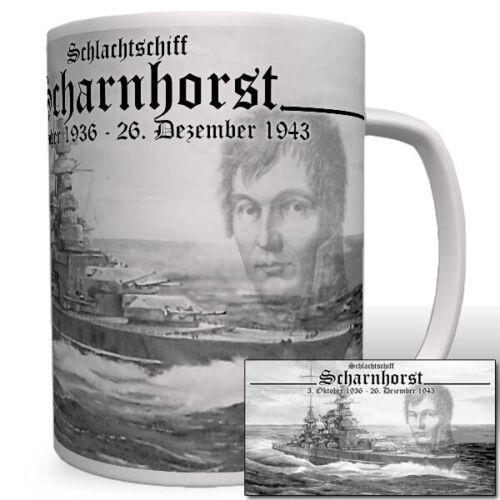Scharnhorst Schlachtschiff Schiff Gerhard von Scharnhorst Marine Tasse #3274