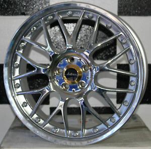 18-inch-5-100-WEDS-KRANZE-ERM-New-Japanese-alloy-mag-wheels-suit-Subaru-63