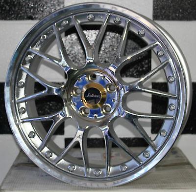 "18"" inch 5/100 WEDS KRANZE ERM New Japanese alloy mag wheels suit Subaru  #63"