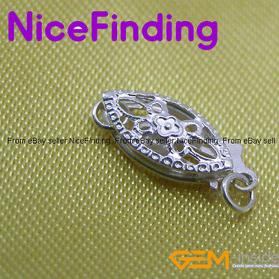 Silver Clasps Fashion Jewelry Making Design Repair Findings/1 pcs,DIY