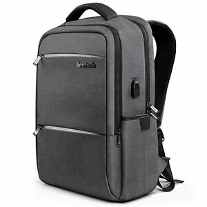 Inateck Large School Bag Business Travel Laptop Backpack With USB Charging Port