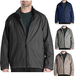 Dickies-Waterproof-Jacket-Mens-Zip-Off-Sleeve-Vest-Jackets-TJ724-Black-Navy