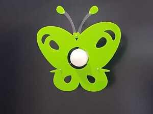 Plafoniera Cameretta : Lampadario moderno farfalla plexiglass vari colori plafoniera