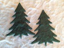 100 Trees tree Christmas Pine Fir Handmade Mulberry Paper scrapbook gift bags