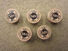 Kamui Brown Original Medium Hard Pool Snooker Cue Tip 11mm Quantity 5 tips