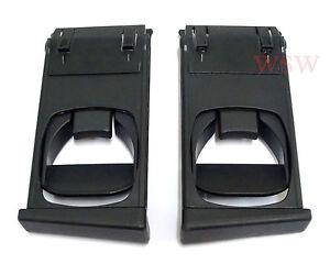 Pair Cup Holder Black Left Right For Toyota Hilux Vigo UTE Pickup 2004-2015 AU