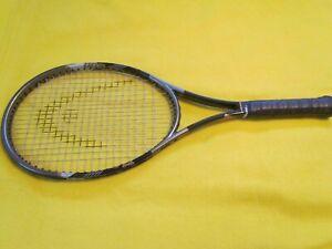 HEAD-Ti-CARBON-5001-Mid-Plus-Tennis-Racquet-Racket-4-5-8-5-Grip