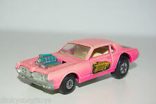 MATCHBOX SPEEDKINGS K-21 K21 COUGAR DRAGSTER PINK EXCELLENT CONDITION