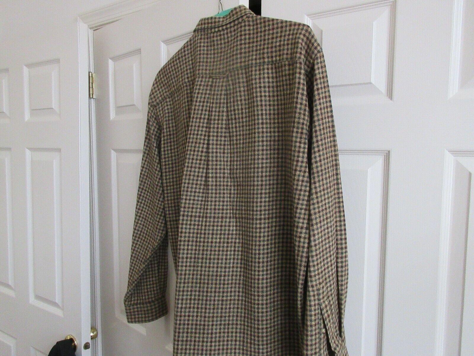 Nautica , L/G , 100% Cotton , HEAVY Long Sleeve Shirt ,