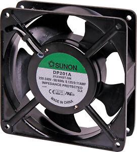 SUNON DP201A-2123HST.GN Axial Fan, 220V - Black