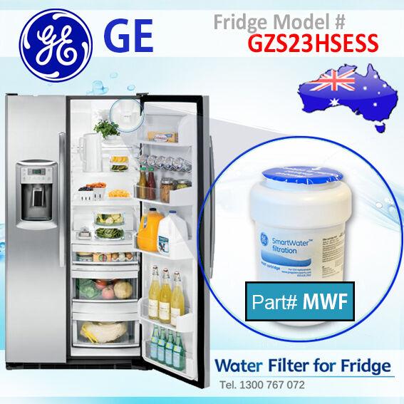 GE FRIDGE GZS23HSESS MODEL GENUINE MWF WATER FILTER (GWF HWF)