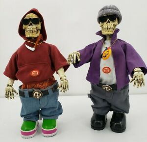 Trademax-Halloween-Homie-Skeletons-Rapping-Hoody-For-Display-Only