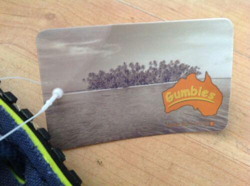 Gumbies Islander Tongs Garçons//Filles Taille 12//30 nouveau shop jeu
