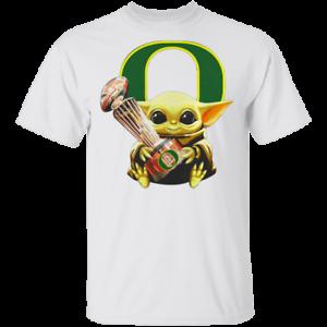 Baby Yoda Hug Oregon Ducks Cup T-Shirt Men/'s Tee Shirt S-5XL