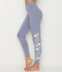 YUMMIE-COTTON-STRETCH-SHAPING-LEGGING-W-FLORAL-EMBROIDERY-NWT