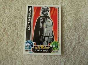 Topps-Star-Wars-Force-Attax-034-CAPTAIN-PHASMA-034-114-Power-Boost-Card