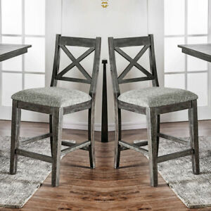 Genial Image Is Loading Faulkton Set Of 2 Counter Height High Chairs