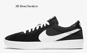 Nike-sb-Bruin-reaccionar-034-Negro-Negro-Anthrac-034-Hombre-Zapatillas-Limited-Stock-Todos-Los