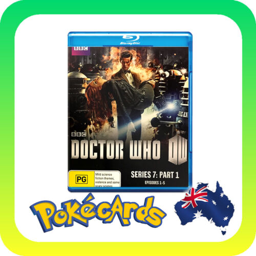 1 of 1 - Doctor Who : Series 7 : Part 1 (Blu-ray, 2012, 2-Disc Set) - FREE POSTAGE!