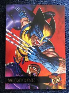 1995 Fleer Ultra Marvel X-Men Card #52 Logan