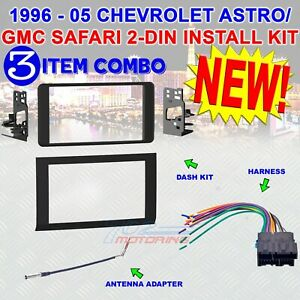 Details about 1996 - 2005 CHEVROLET ASTRO / GMC SAFARI INSTALLATION on sincgars radio configurations diagrams, switch diagrams, electronic circuit diagrams, honda motorcycle repair diagrams, smart car diagrams, engine diagrams, series and parallel circuits diagrams, electrical diagrams, friendship bracelet diagrams, gmc fuse box diagrams, led circuit diagrams, pinout diagrams, motor diagrams, hvac diagrams, battery diagrams, transformer diagrams, lighting diagrams, internet of things diagrams, troubleshooting diagrams,