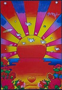 "SUNSHINE"" - Peter Max - Size: 4"" x 6"" Art / Postcard | eBay"