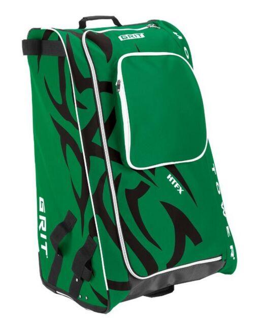 Grit Inc Htfx Hockey Tower 36 Wheeled Equipment Bag Green Htfx036 Da Dallas