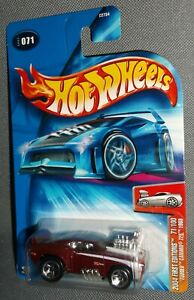 2004 Hot Wheels First Editions Tooned 1969 Camaro Z28 #71 KMart Exclusive
