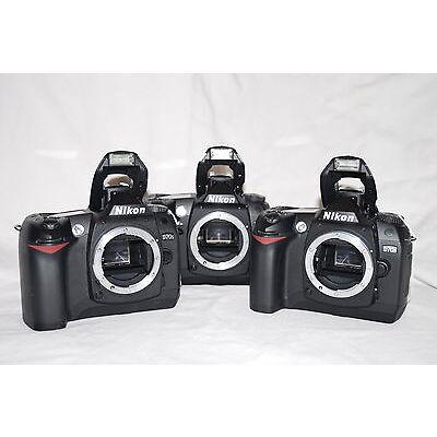 MINT MINT !! Condition Nikon D70 6.1MP Digital SLR Body +Warranty (not D70S)