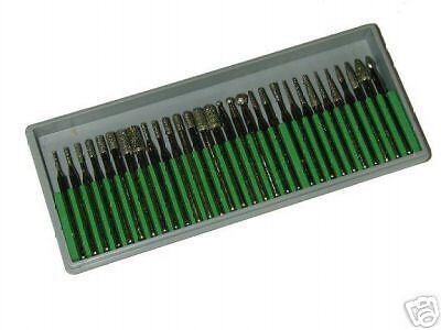 Diamantschleifstifte 30 teilig 3 mm 45 mm Körnung D126