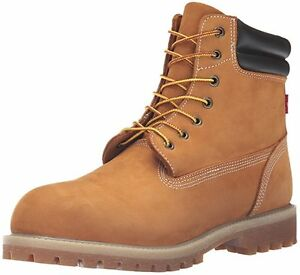 Image is loading LEVIS-MENS-HARRISON-R-BOOT-WHEAT-517190-11B