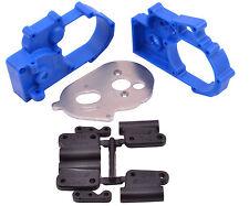 RPM Slash Rustler Stampede Hybrid Gearbox Housing & Rear Mounts (Blue) RPM73615