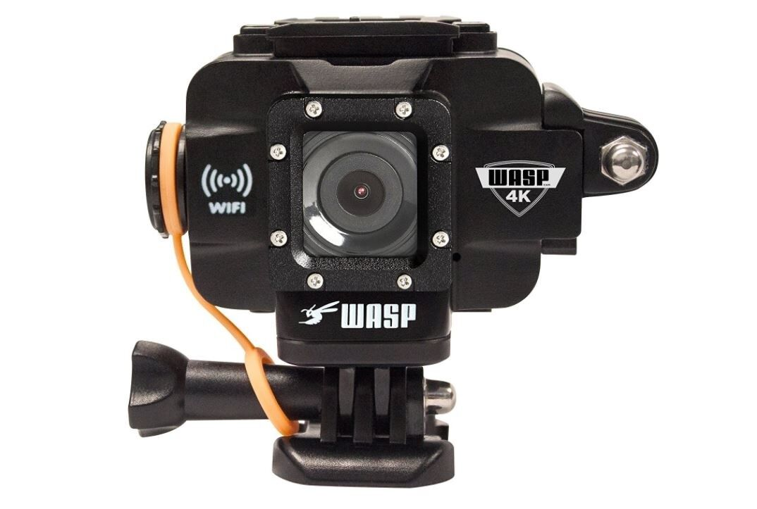 WASPCam by Cobra Wasp 9907 4K WiFi Action-Sport Waterproof Camera BLK Featured