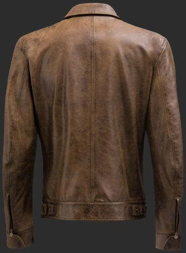 Ottimo Rrp1135 New Leather Brown regalo Matchless L Jacket Gbp Captain wCqTw8