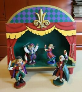 Midwest-Importers-Nutcracker-Characters-and-Stage-EXTREMELY-RARE