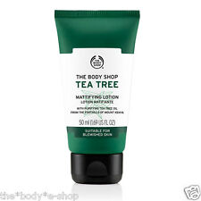 Body Shop SALE ~ TEA TREE MATTIFYING LOTION ~ 50ml ~ Shine Control& Matte Finish