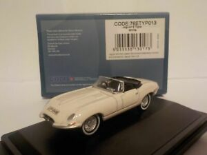 Model-Car-Jaguar-E-type-White-1-76-New