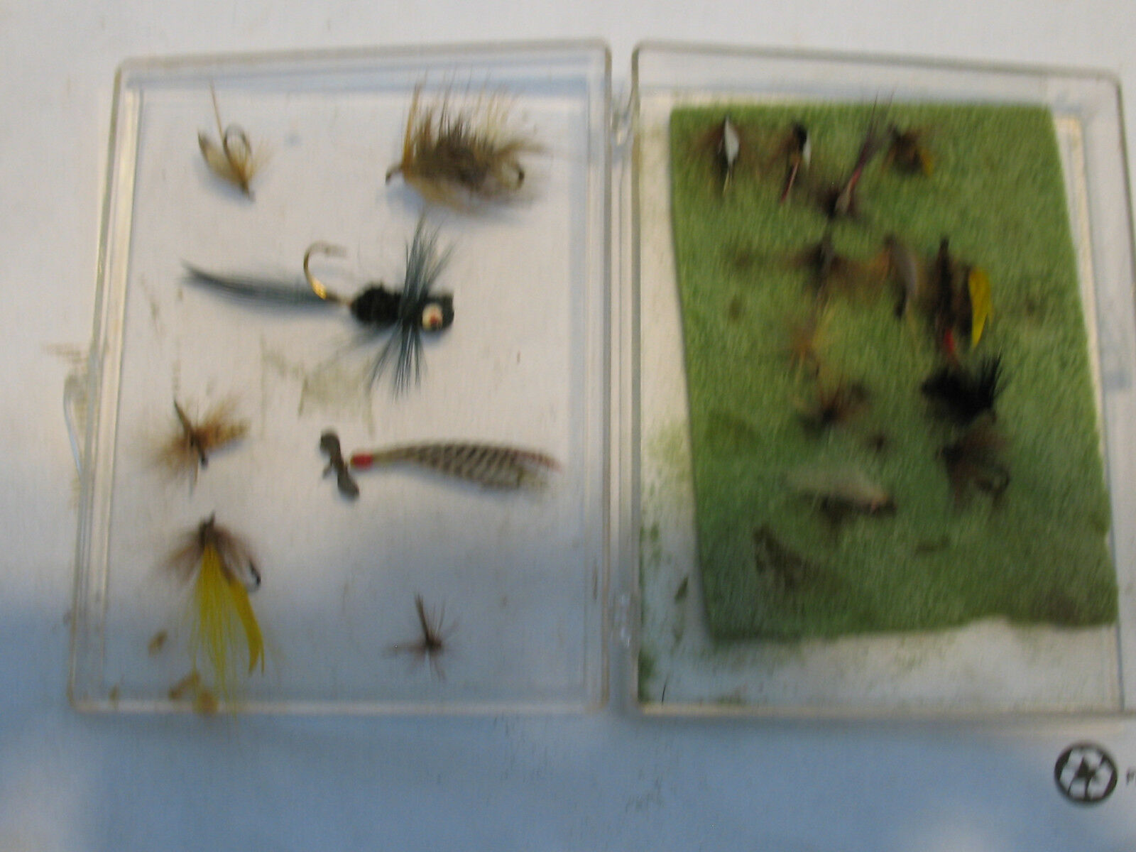 VINTAGE LOT OF FLIES (some rare)
