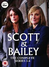 Scott and Bailey ITV TV Detective Series - Season 1, 2, 3, 4 + Special Features