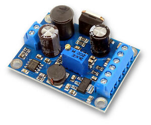 High Voltage Power Supply incl. 5V and 3,3V for Nixie/Magic eye tubes, old radio