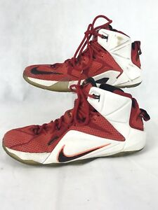 check out 261aa 24d2a Image is loading Nike-Lebron-XII-12-Heart-Of-A-Lion-