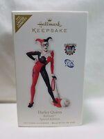 2010 Hallmark Keepsake Ornament Harley Quinn Batman Special Edition Limited Qty