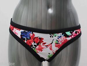 Brand New Ex M/&S Pineapple Print Bikini Bottoms Sizes 8-10-12-14-16-18-20-22