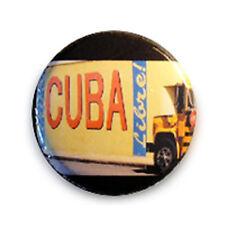 Badge CUBA LIBRE Havanna Havane cubano salsa tango pop retro pin button Ø25mm