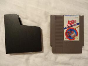 Vintage Nintendo Bases Loaded Video Game w/Sleeve Jaleco NES 1985