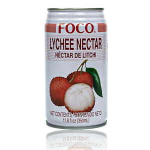 FOCO-Premium-Lychee-Drink-in-350-ML-TIN-Lychee-Juice-nectar-from-Thailand