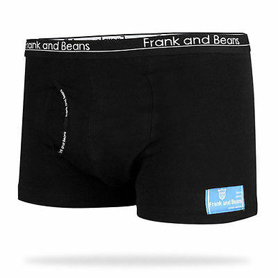 6 Qty Frank and Beans Mens Underwear BOXER BRIEFS Trunks Cotton M BB +