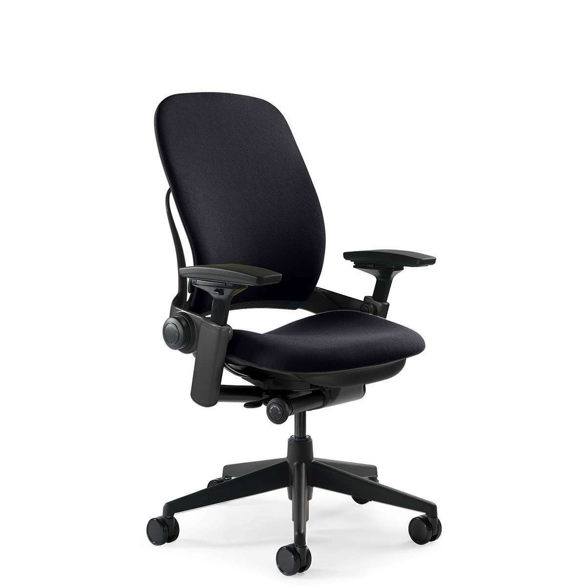 Steelcase Leap v47 Office Chair - Black Fabric
